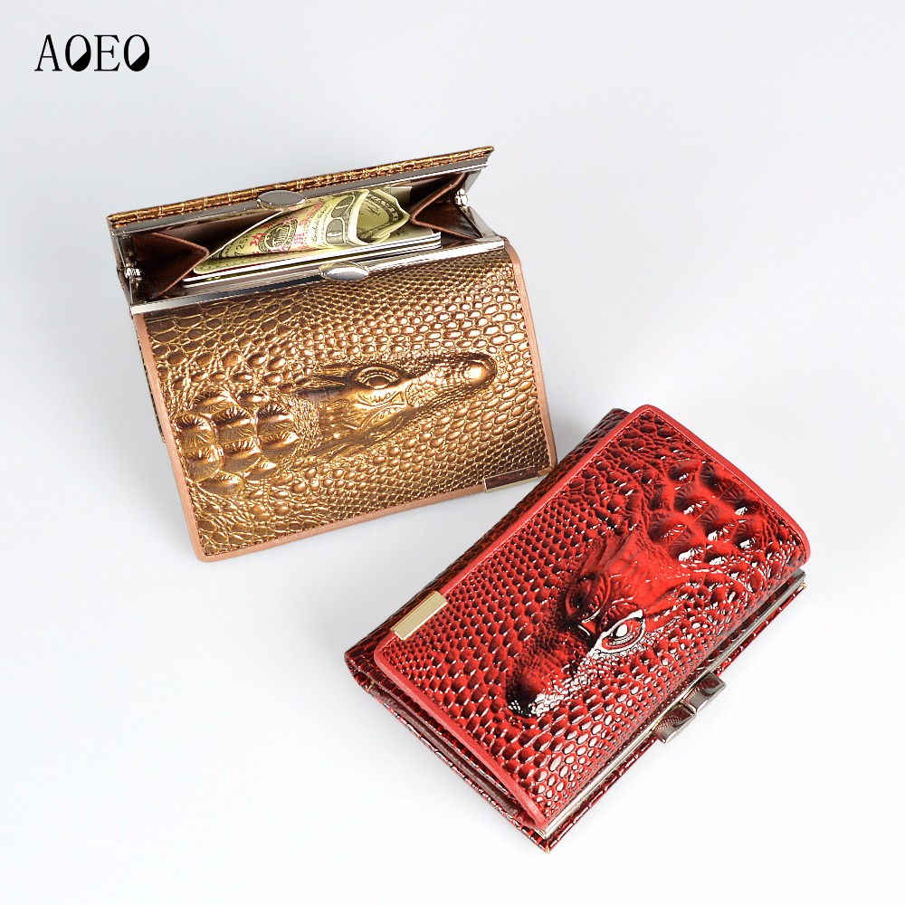 AOEO Small Wallets Cute Girls Lock Coin Purse For Women Gifts With ID Credit Card Holder Cash Ticket Pocket Ladies Wallet Female hot sale owl pattern wallet women zipper coin purse long wallets credit card holder money cash bag ladies purses