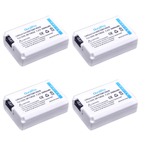 4pcs NP FW50 NPFW50 NP FW50 Lithium Battery For Sony Alpha A33 A35 A37 A55 SLT