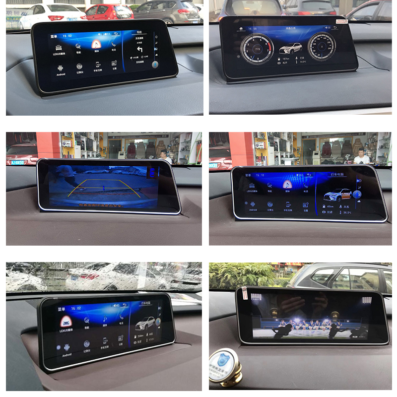 LiisLee Car Multimedia GPS Audio Radio Stereo For Lexus RX RX300 RX350 RX400h RX450h 2016~2018 Original Style Navigation NAVI (3)