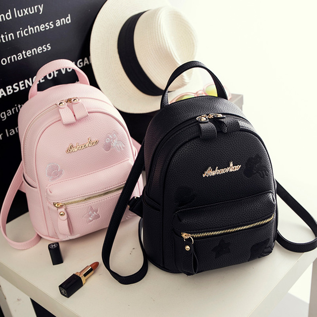 Arnochen 2018 Fashion Women Backpack High Quality new Korean version of the  tide personality mini bag ladies backpacks 73e6ded8db726