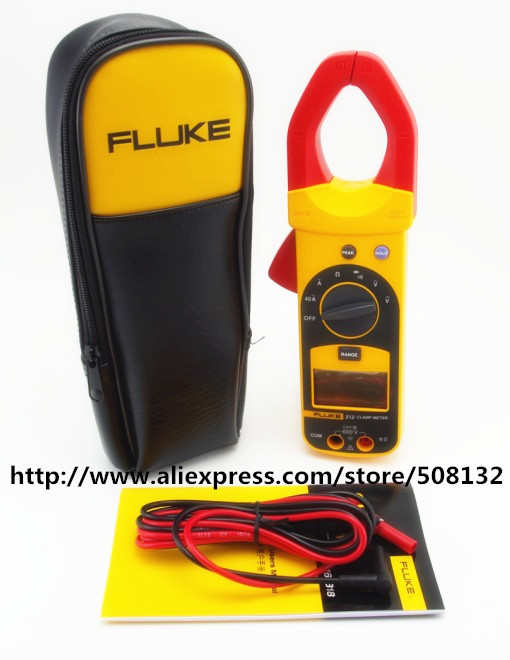 US $132 5 |Fluke 312 Digital Clamp Meter Multimeter Tester !!Brand New!!  F312 AC 1000A-in Clamp Meters from Tools on Aliexpress com | Alibaba Group