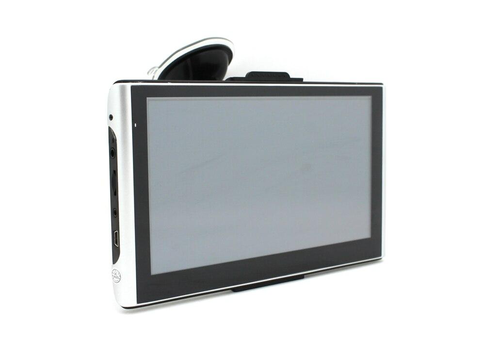 Новый 7-дюймовый Автомобильный видеорегистратор с GPS навигатор 800 * 480 пикселей hd1080p определения