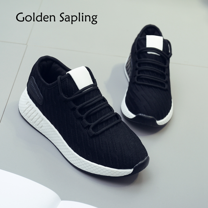 Golden Sapling Womens Sneakers Women Running Shoes Winter Air Mesh Top Rubber Womens Spo ...