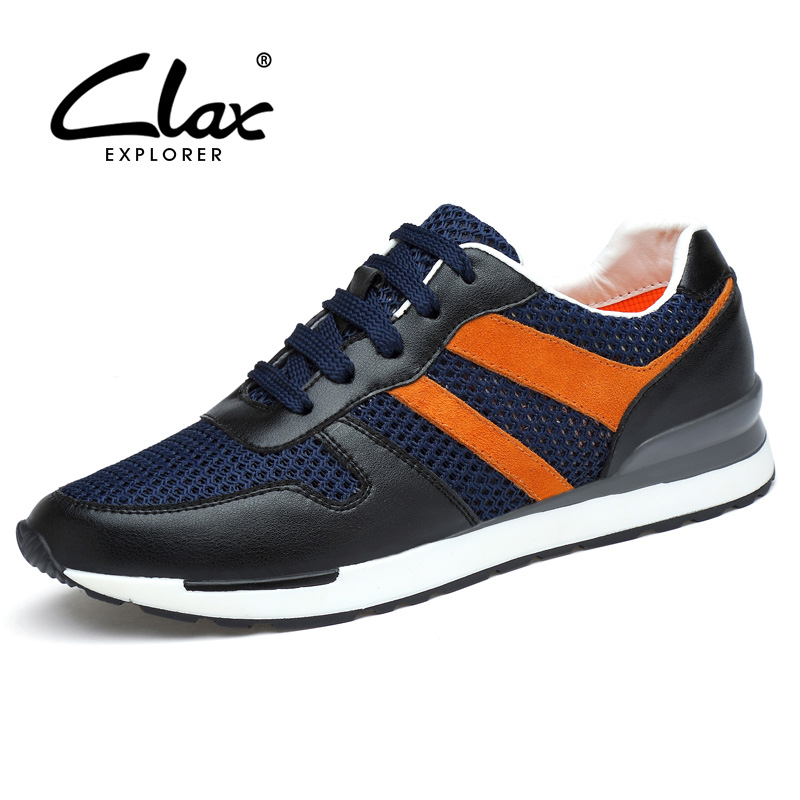 Clax Men Casual Shoes 2018 Breathable Summer Walking Shoe for Male Mesh Footwear Comfortable Soft high quality men casual shoes fashion lace up air mesh shoe men s 2017 autumn design breathable lightweight walking shoes e62