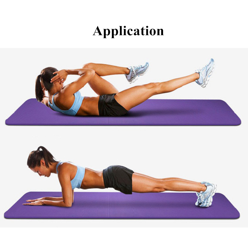Fitnes Pilates Yastıqları üçün yoga xalçaları idman ayaqaltı - Fitness və bodibildinq - Fotoqrafiya 6