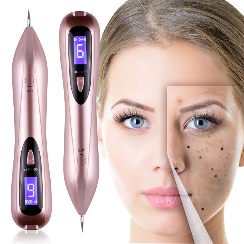 High-quality Remove Granulation Warts Knots Tattoo Facial Freckles Black Spots Beauty Pen Laser Electric Ion Dot Mole Machine