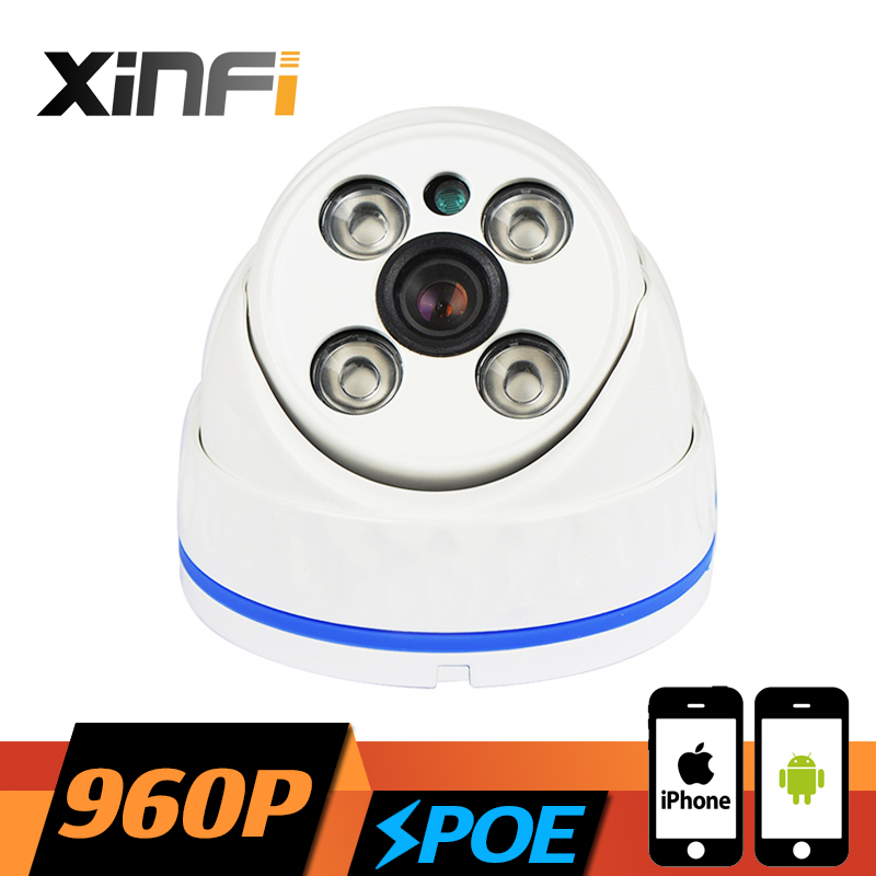XINFI HD 960P POE camera 1.3MP night vision Outdoor/Indoor Waterproof network CCTV IP camera P2P ONVIF 2.0 PC&Phone remote view