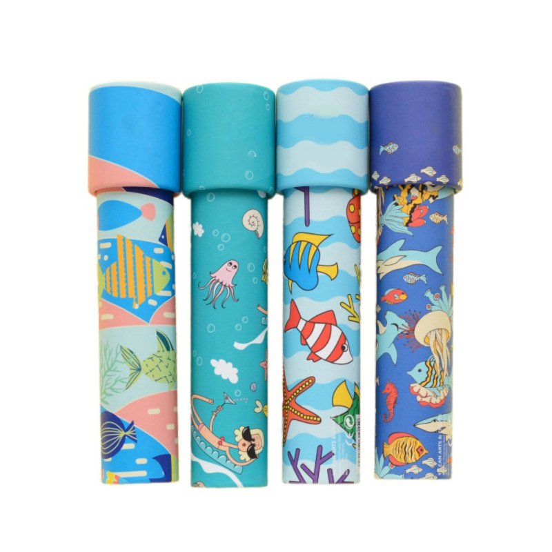 Prince Kaleidoscope Prism Toys Toddler Toys Educational Toys for Children Interactive Periscope Kids Gifts Random Color 1pc