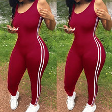 New Bodycon Pants Long Jumpsuits Women Macacao Party Rompers