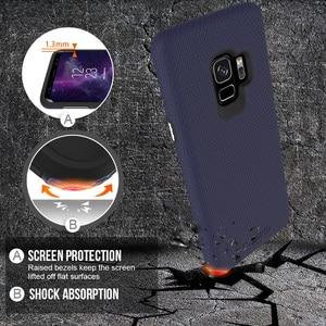 Image 3 - TOIKO X Guard 2 w 1 etui na telefony do Samsung Galaxy S9 odporny na wstrząsy twardy PC miękki TPU zderzak Shell Cover ochronny hybrydowy pancerz