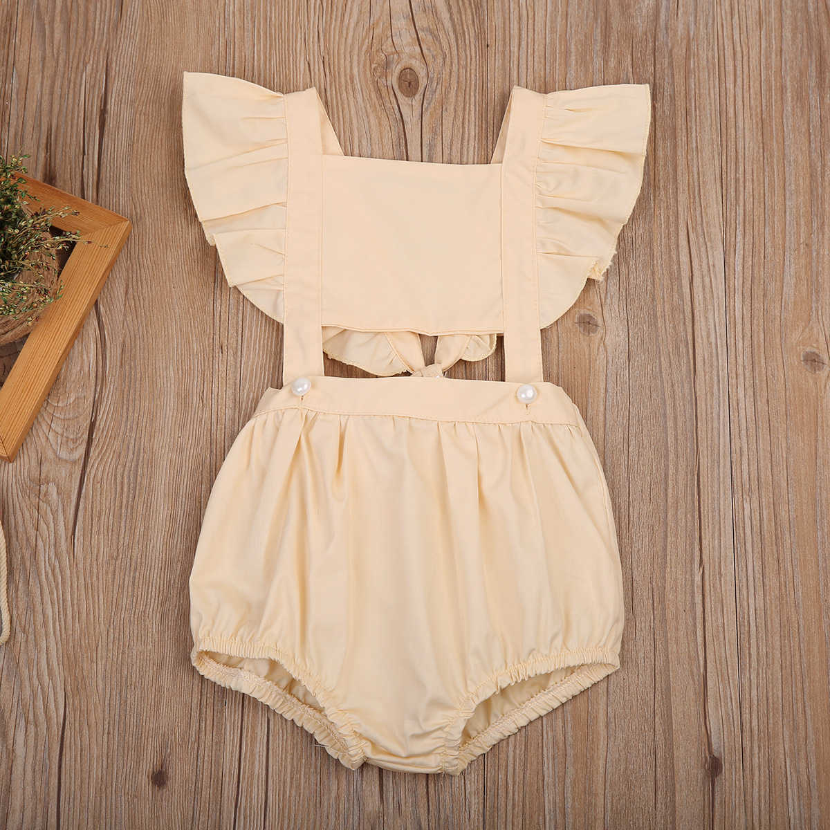 Summer Toddler Baby Girl Kids Sleeveless Ruffles Romper Jumpsuit Sunsuit One-Pieces Outfits Clothes 1-5 2017 summer cute newborn baby boy girl cartoon fox romper sleeveless backless jumpsuit one pieces outfits sunsuit 0 24m