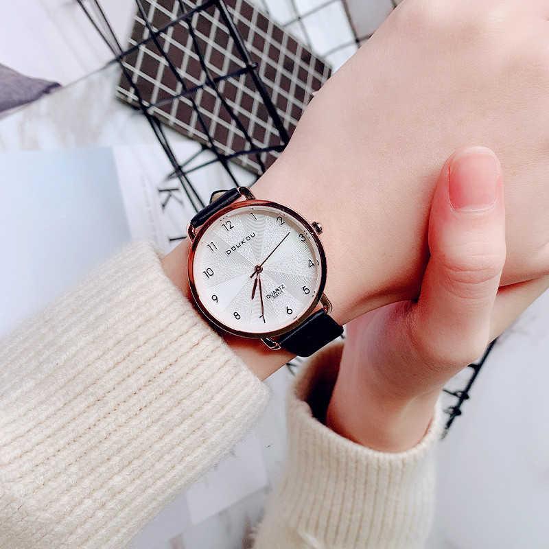 829d7c7c7 ... 2019 New Women Exquisite Dial Design Bracelet Quartz Watch Ladies  Simple Fashion Casual Leather Wristwatch Women's ...