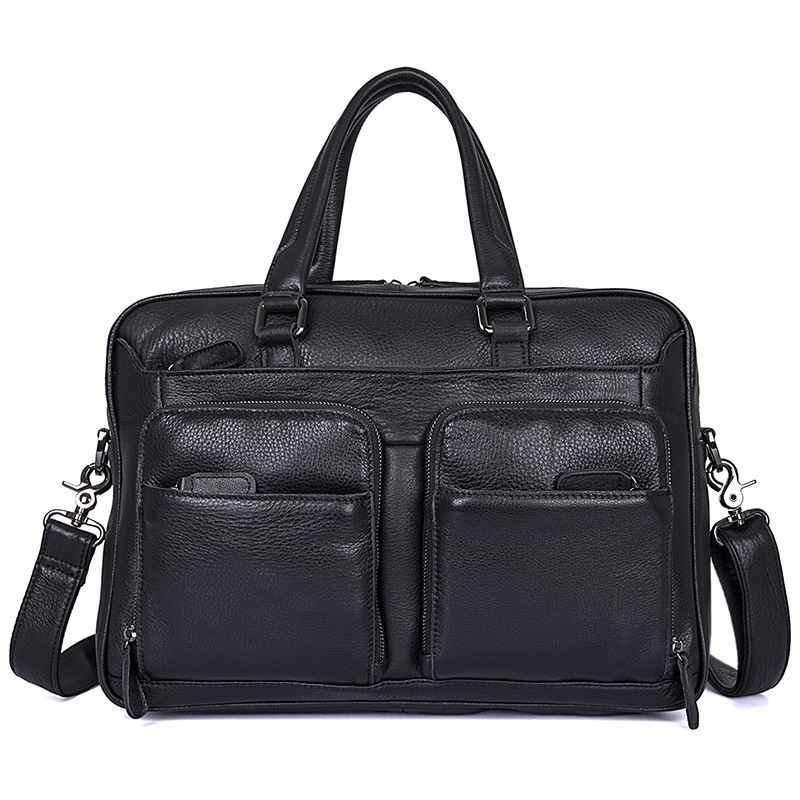 JMD Genuine Leather Handbags Business Men Bag Laptop Tote Briefcases Crossbody bags Shoulder Handbag Casual Men's Messenger Bag women handbag shoulder bag messenger bag casual colorful canvas crossbody bags for girl student waterproof nylon laptop tote