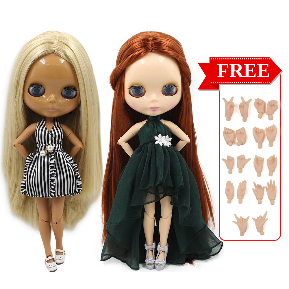 Icy Factory Blyth Doll Joint Body Diy Nude Bjd Toys Fashion Dolls Girl Gift Special Offer On Sale With Hand Set A&b #1