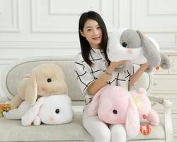 50cm rabbit dolls plush classical lying bunny rabbit toy amuse lolita loppy rabbit kawaii plush pillow.jpg 250x250