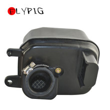 цена на FLYPIG New Motorcycle Air Filters Black Air Cleaner Box Filter For Yamaha PW50 PW 50 Y-Zinger 1981-2009 Motorcycle Dirt Bike
