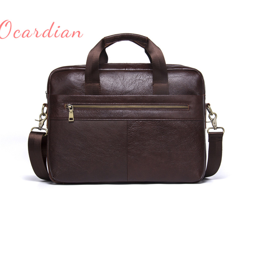 OCARDIAN bolsos mujer MB019 Leather Bag Business Men bag Coffee Made in China Casual #30 2017 Gift paul kossof business franchising in china