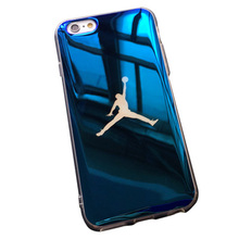 TPU Soft Case For iPhone X /7/8 Plus /6(s) Plus – Michael Jordan NBA