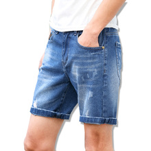 2017 High Quality Men Jeans Summer New Fashion Short Jeans Man Fashion Male Denim Shorts Large size