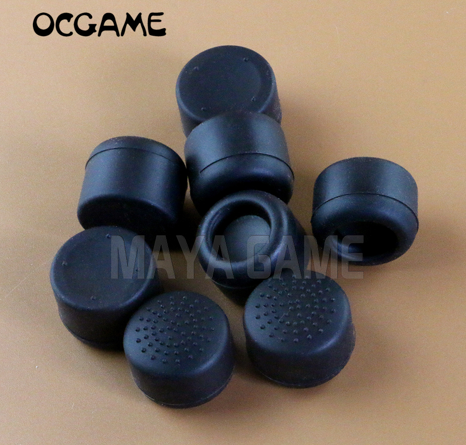 OCGAME 200pcs Increase Height Stick Silicone Analog Thumb Stick Grips Cap For PS4 PS3 PS2 XBOXONE XBOX360 Controlelr