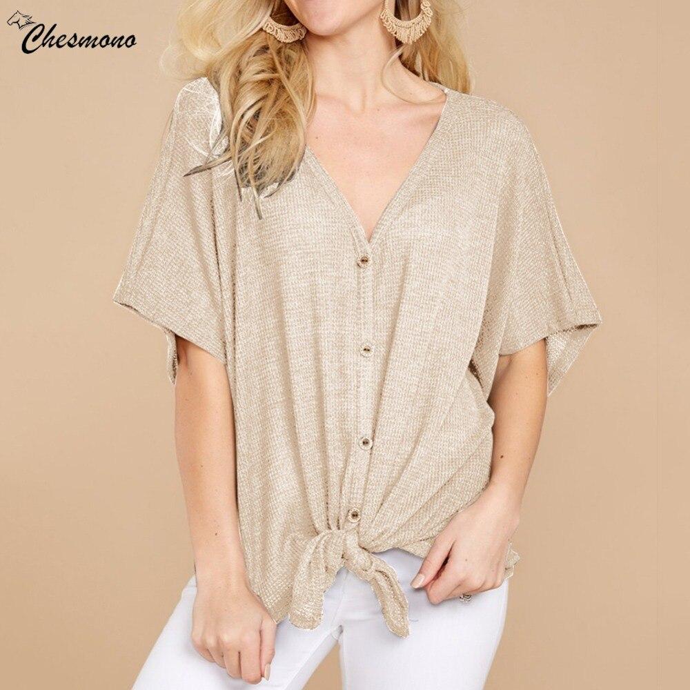 Heißer Verkauf Europäischen und Amerikanischen Stil Einfarbige Kurzarm Strickjacke T-shirt 2018 lose pullover taste langarm-spitzen-hemd dame t-shirts