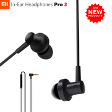 2018 Newest Original Xiaomi Hybrid Pro 2 Earphone Dual Driver Dynamic Balanced Armature Mi In Ear Mic Line Control High Polish
