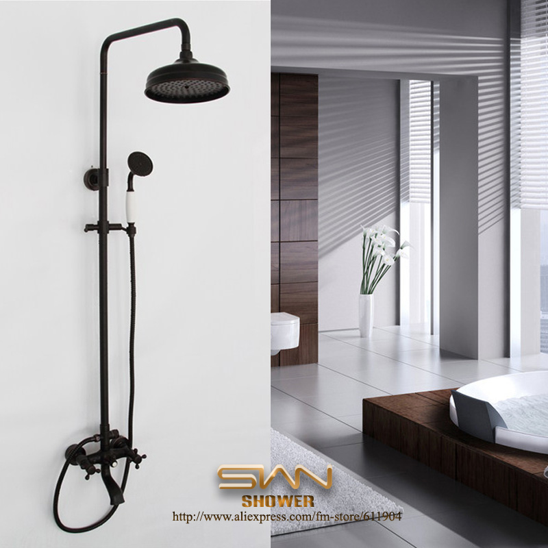Online Buy Wholesale Bronze Rain Shower Head From China Bronze  Black Shower Heads   Mobroi com. Black Shower Head And Faucet. Home Design Ideas