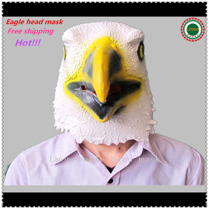 2016 Halloween Maskenbal Cosplay Maske Eagle Mask Latex životinja - Za blagdane i zabave - Foto 2