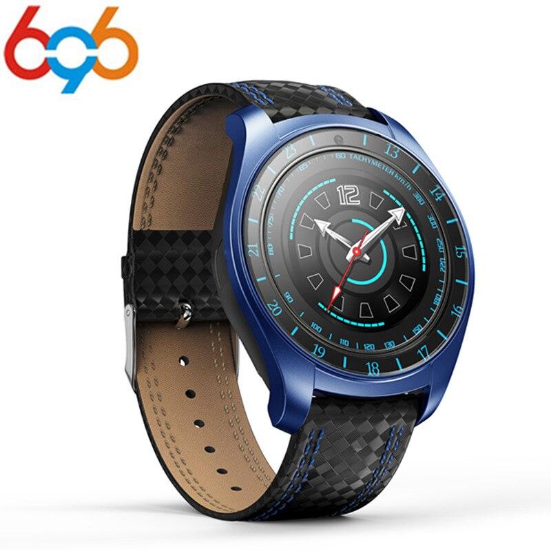 696 V10 Smart Watch Android podómetro ritmo cardíaco iluminación deporte hombres Smartwatch para IOS Andriod teléfono reloj de la cámara