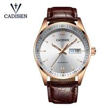 CADISEN мужские часы автоматические механические часы лучший бренд класса люкс автоматические Модные механические часы Relogio Masculino