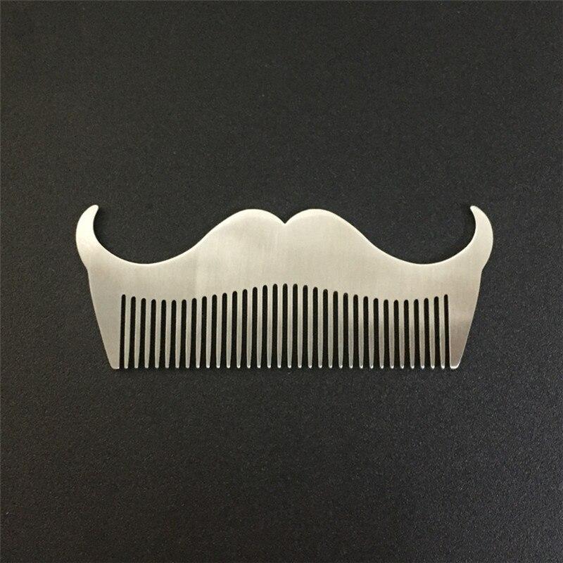 stainless steel men u0026 39 s beard shape combs goat beard combs