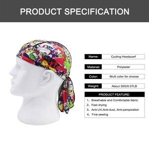 WOSAWE быстросохнущая Кепка для велоспорта с принтом, летняя мужская кепка для бега, пешего туризма, рыбалки, бандана, головной платок, Ciclismo, капюшон, повязка на голову, шапки с черепом