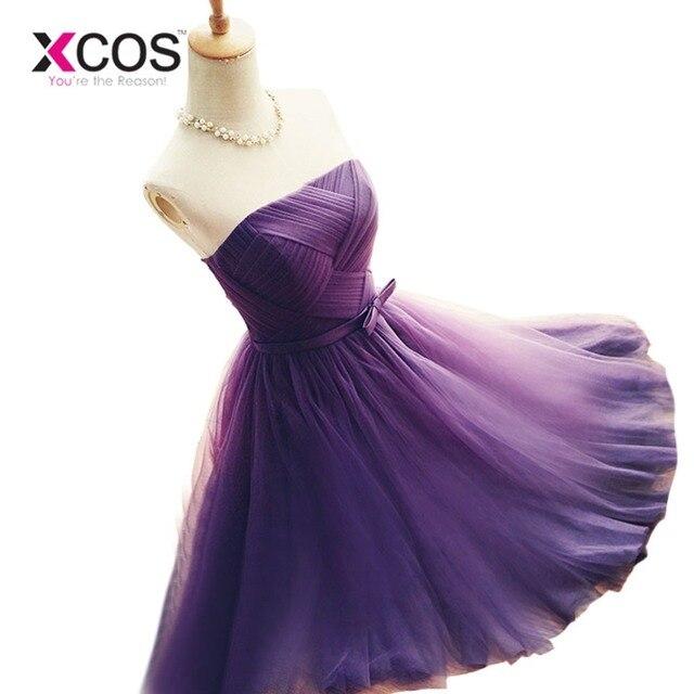 b9edad6c22452 Ucuz Gri Mezuniyet Elbise Seksi Koyu Mor Kısa Sıkı Mezuniyet Elbiseleri  2016. Sınıf Gelinlik Modelleri