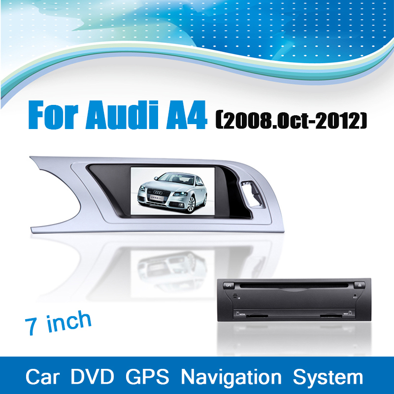 Dvd-Player Gps-Navigation-System Audi A4 Media-Stereo Bluetooth Car 2008 for