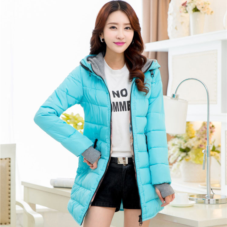 Aliexpress.com : Buy Women's Winter Jackets black blue and pink ...