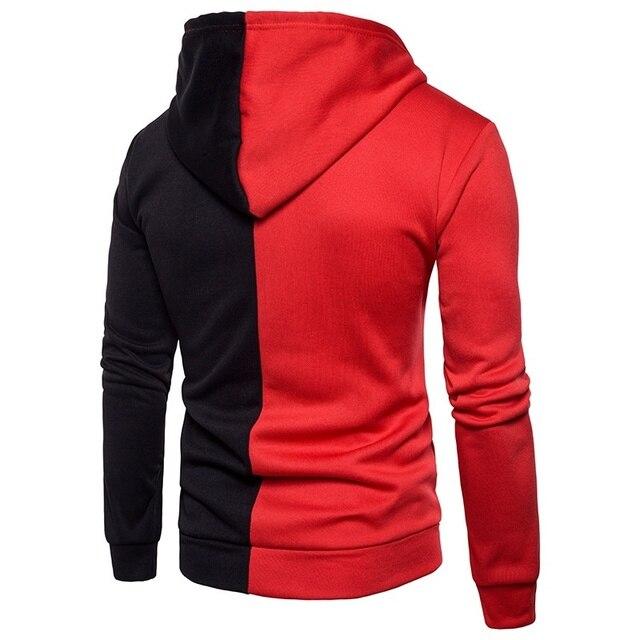 2020 Brand Sweatshirt Men Hoodies Autumn Spring streetwear Sweat Homme hood Men Patchwork Hoodies Sweatshirt Jacket Pullovers 2