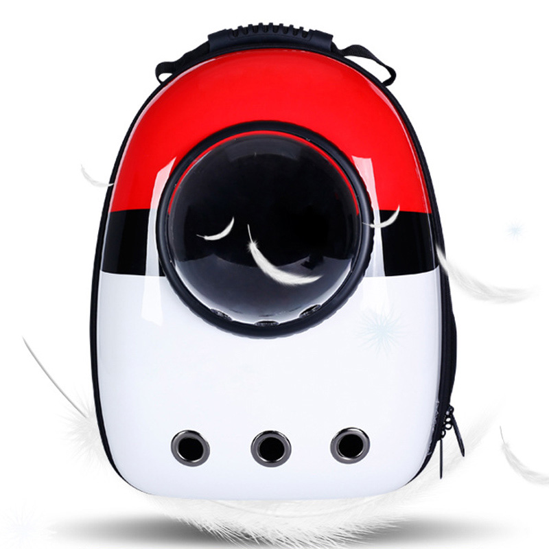 Astronaut Dog Carrier Backpack For Small Dogs Breathable Space Capsule Pet Bag Puppy Cat Outdoor Travel