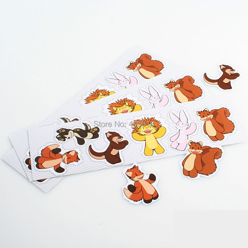 Online Get Cheap Glossy Vinyl Sticker Label Paper Aliexpresscom - Custom die cut vinyl stickers printing