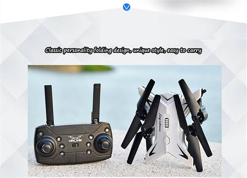 RC Helicopter Drone with Camera HD 1080P WIFI FPV Selfie Drone Professional Foldable Quadcopter  Minutes Battery Life 10