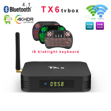 Tanix TX6 Android9.0 ТВ Box Allwinner H6 4 Гб DDR3 32 ГБ/64 GB EMMC 2,4 ГГц + 5 ГГц Wi-Fi BT4.1 Поддержка 4 K Youtube H.265 Media player