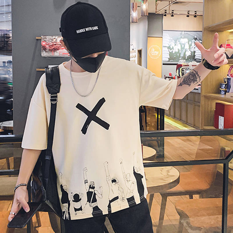 One Piece T Shirt Casual Tshirt Streetwear O Neck Man T-shirt Boys Clothes 2019 Anime Summer Top Tees Casual Luffy T Shirt Funny