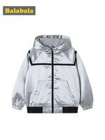 Balabala 2019 Autumn Jackets for Boy Coat Bomber Jacket Boy's Windbreaker Winter Jacket Kids Children solid Jacket