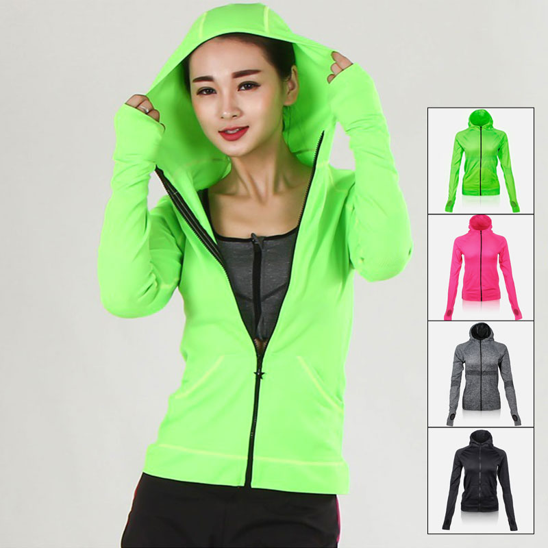 ALBREDA 2018 womens Yoga jacket outdoor Leisure Gym Fitness Running Shirt Wicking Quick dry long sleeved sports Loose Yoga TopsALBREDA 2018 womens Yoga jacket outdoor Leisure Gym Fitness Running Shirt Wicking Quick dry long sleeved sports Loose Yoga Tops