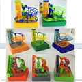 Amaze balls The Saucer - Electronic DIY Construction Desktop Marble Run Maze Balls Track Toys Building Blocks with music & light