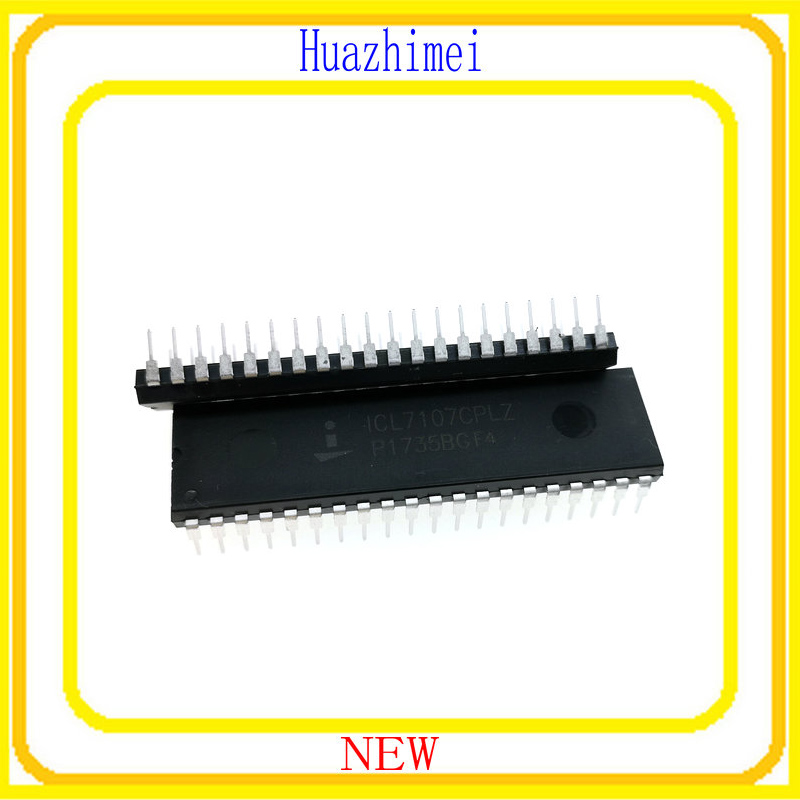2PCS/LOT ICL7107CPLZ ICL7107CPL ICL7107 DIP40