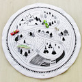 Forest Game Mat Educational Mats Puzzle Carpet Child Developing Mat Baby Kids Rug Floor 2016 Hot New In Stock Free Shipping 1pcs
