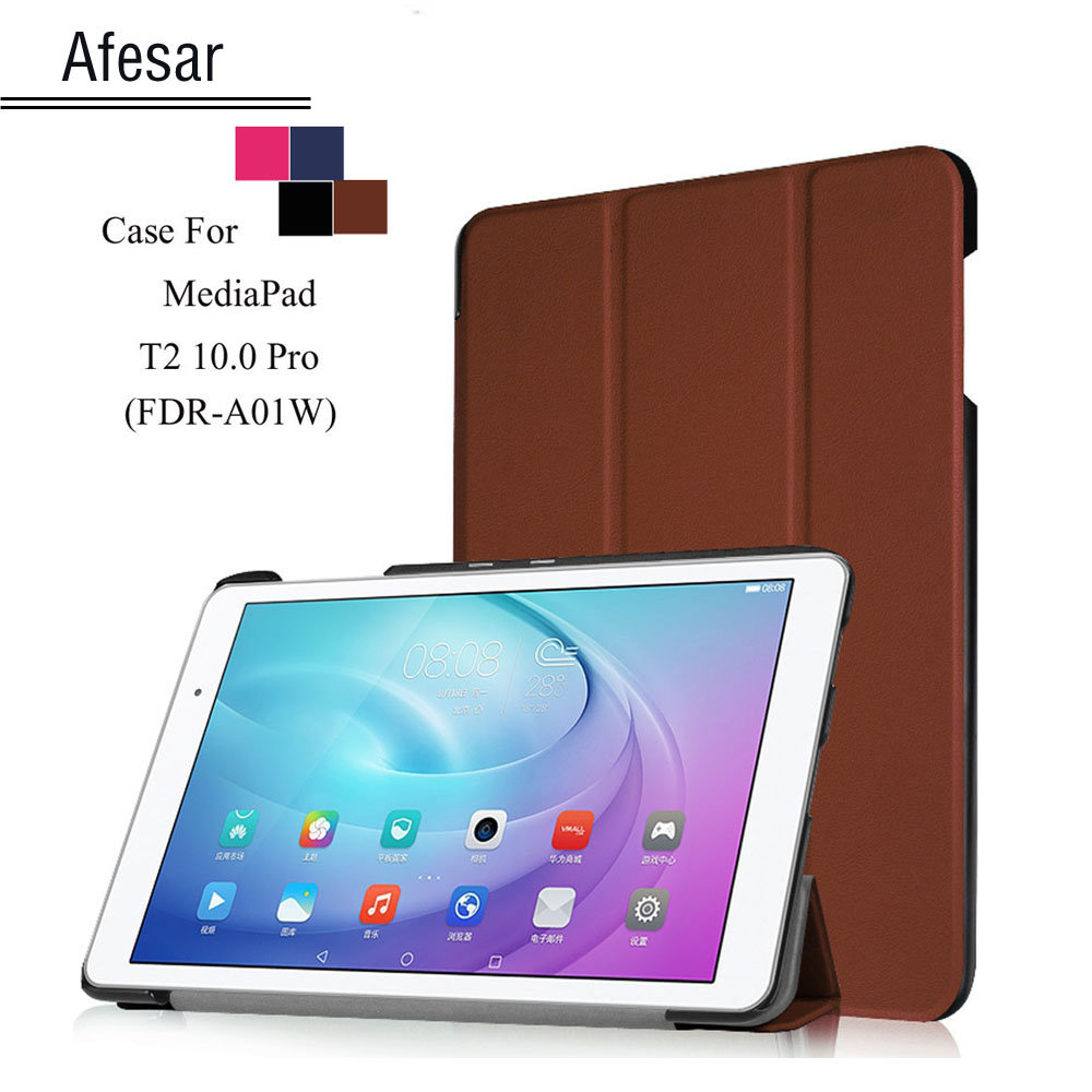T2 Pro 10 FDR-A01W A03L tablet Smart Shell cover case For Huawei MediaPad T2 10.0 Pro ultraslim flip folio folding stand case new fashion pattern ultra slim lightweight luxury folio stand leather case cover for huawei mediapad t2 pro 10 0 fdr a01w a03l page 5