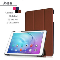 Free Ship Para MediaPad T2 10 0 Pro 10 1 Inch Tablet Smart Shell Cover Case