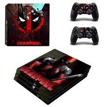 Film Deadpool PS4 Pro Skin Sticker Vinyl Decal Sticker