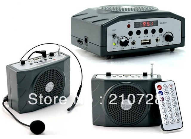 DHL Free Shipping  Mini Voice Portable Amplifier Speaker with USB function KO-898